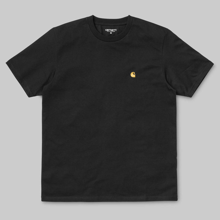 Carhartt Chase T-Shirt - Black/Gold