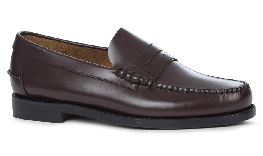 Sebago Classic Dan Loafer - Brown/Burgundy
