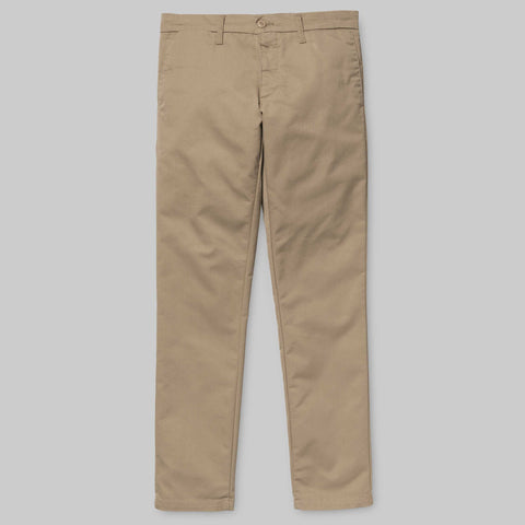 Carhartt Sid Pant Lamar Stretch Twill 8.6oz - Leather Rinse