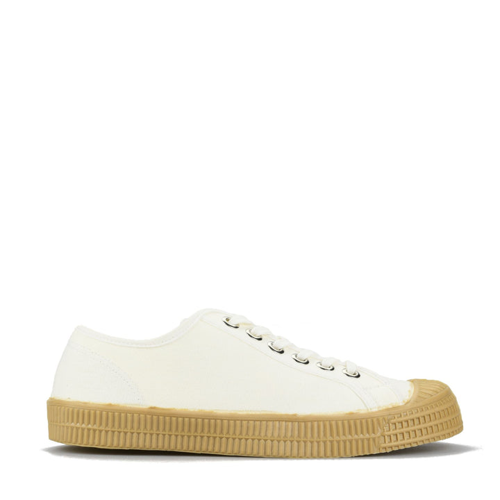 Novesta Star Master Plimsoll - White/Transparent