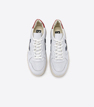 Veja Trainers V10 Leather Extra White Nautico Pekin Pierre