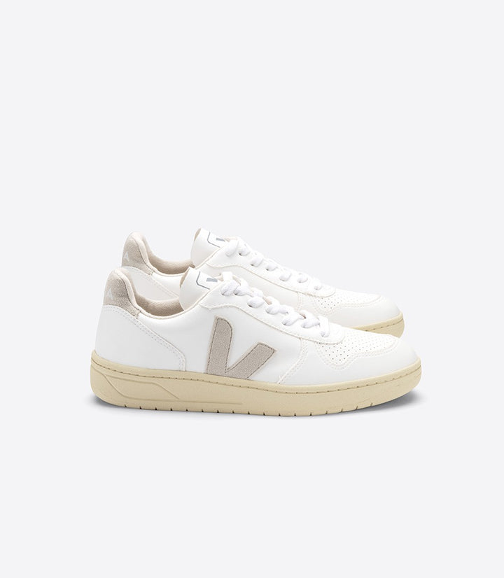 Veja V-10 Trainer - CWL White/Natural/Butter Sole