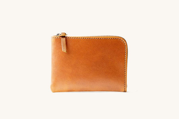 Tanner Goods Universal Zip Wallet - Saddle Tan