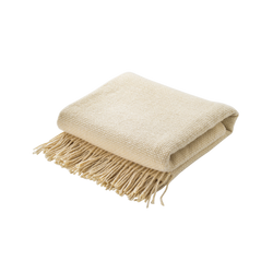 Merino Wool Blanket with Tassels (Scandinavian)