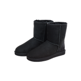 Ankle-high Wool Boots
