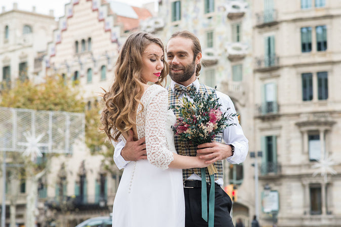 Urban wedding en Barcelona
