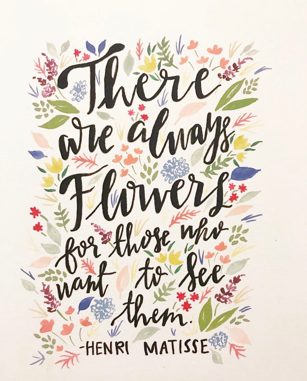 There are always flowers