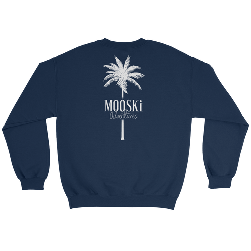 MOOSKi White Palm Crewneck