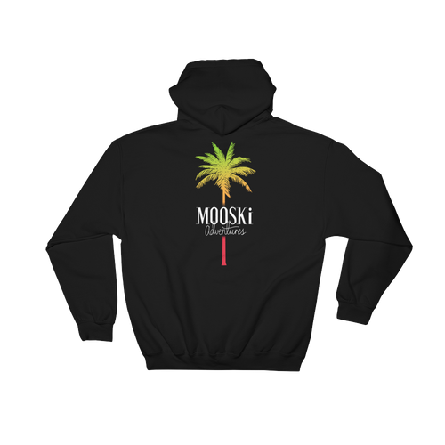 MOOSKi TROPICAL Palm Hoodie