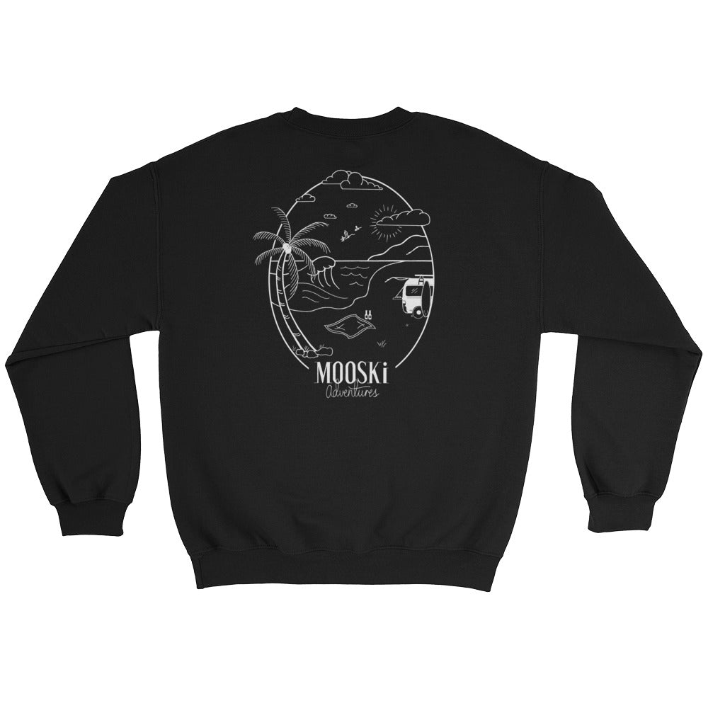 Freedom Crewneck - White Design