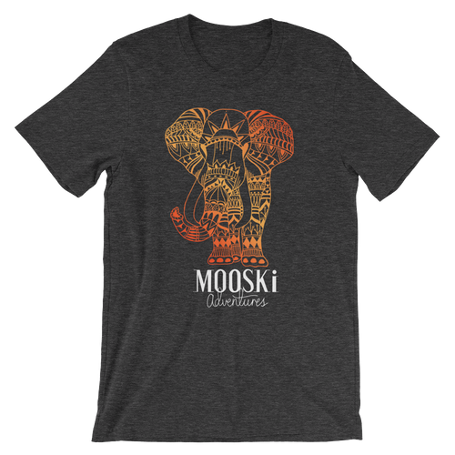SUNSET Elephant Tee