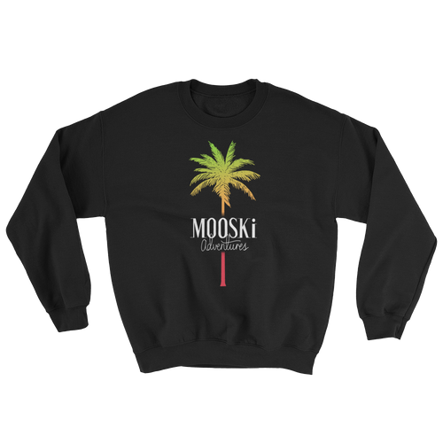 MOOSKi TROPICAL Palm Crewneck