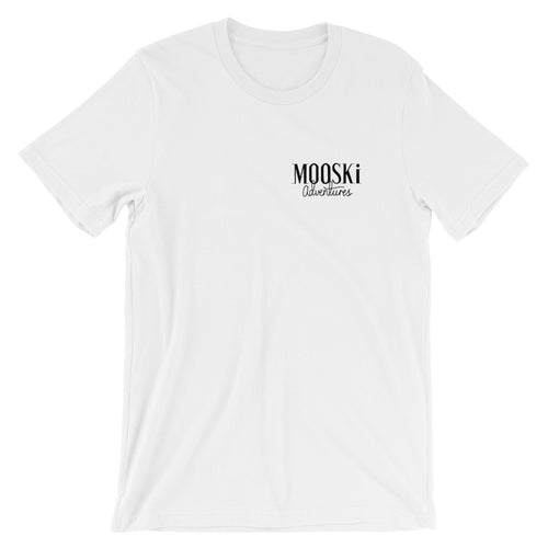 MOOSKi Black SML Logo Tee