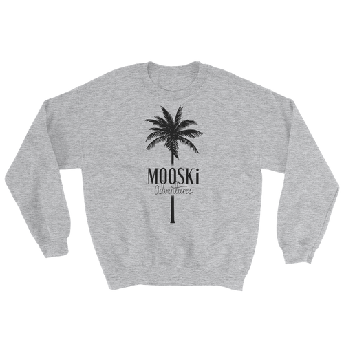 MOOSKi Black Palm Crewneck