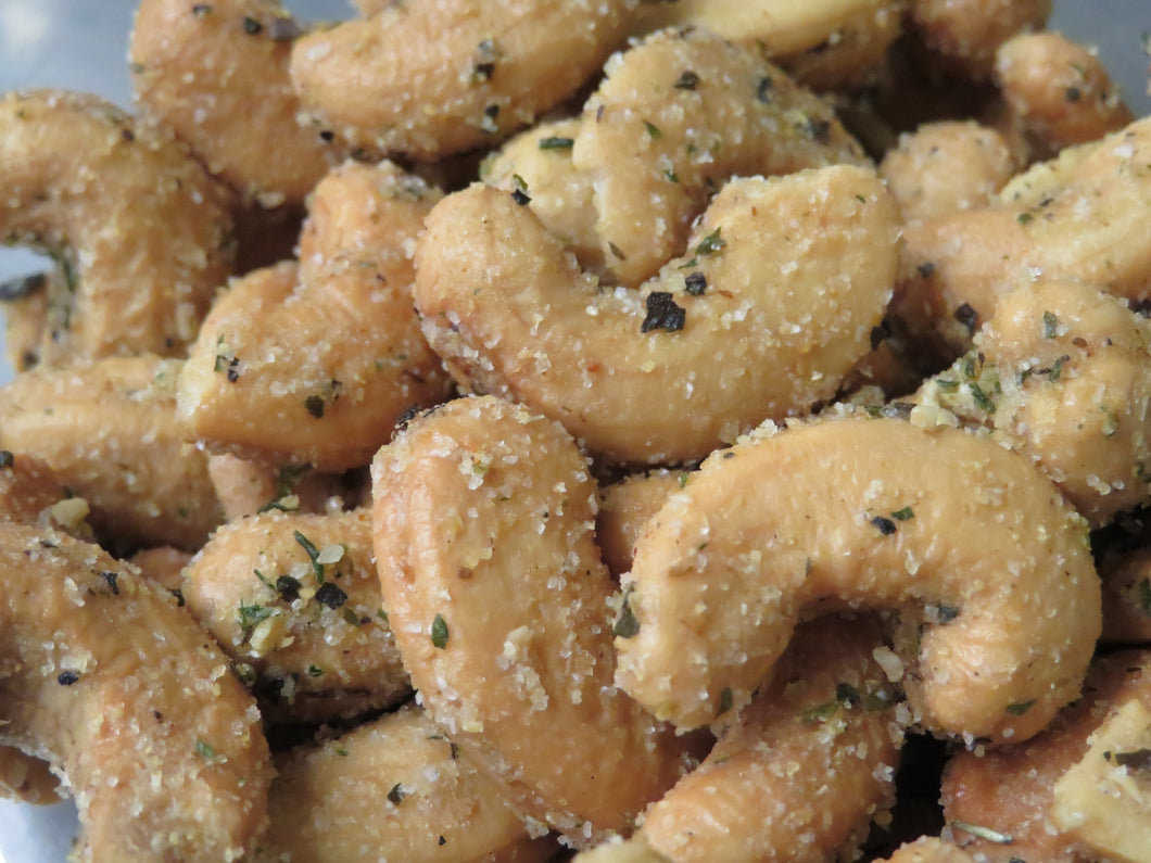 Garlic and Herb Cashews