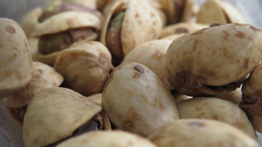 Pistachios with Garlic