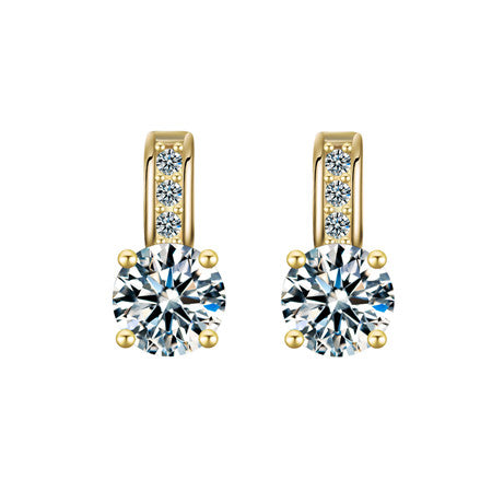 Crystal Dazzle Stud Earrings