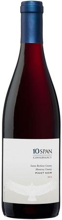 10 Span Vineyards Pinot Noir Santa Barbara County 2014