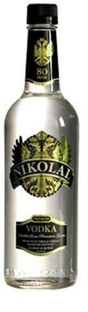 Nikolai Vodka 80 Proof ( Only 750 and Liters in stock)