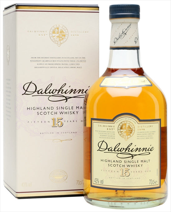Dalwhinnie Scotch Single Malt 15 Year