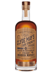 Clyde May's Bourbon 10 Year Cask Strength