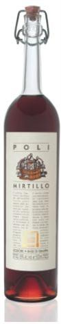 Jacopo Poli Liquore Poli Mirtillo