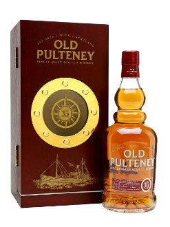 Old Pulteney Scotch Single Malt 35 Year