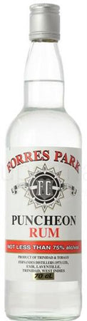 Forres Park Rum Overproof Puncheon Wine Chateau