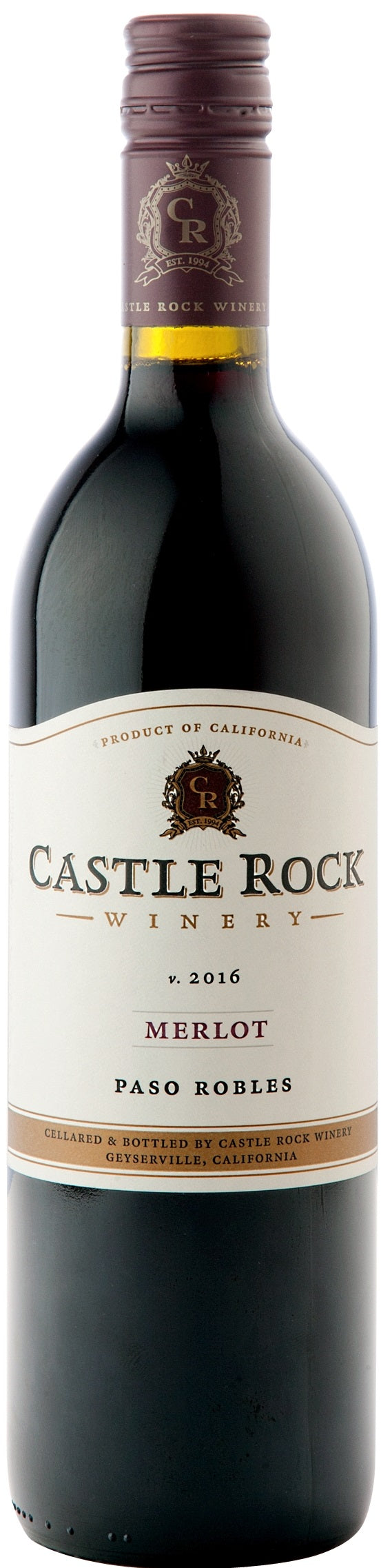 Castle Rock Merlot Paso Robles 2016