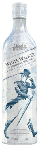 Johnnie Walker Scotch White Walker Game Of Thrones/freezer for an 'icy reveal'.