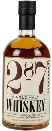287 Whiskey Single Malt