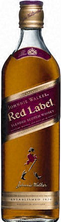 Johnnie Walker Scotch Red Label