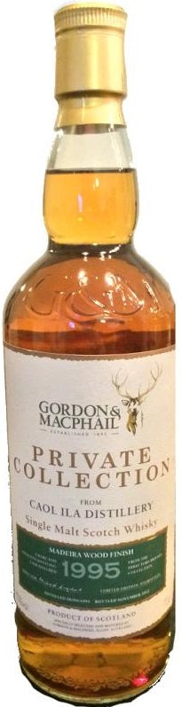 Caol Ila Scotch Single Malt 1995 10 Year By Gordon & Macphail