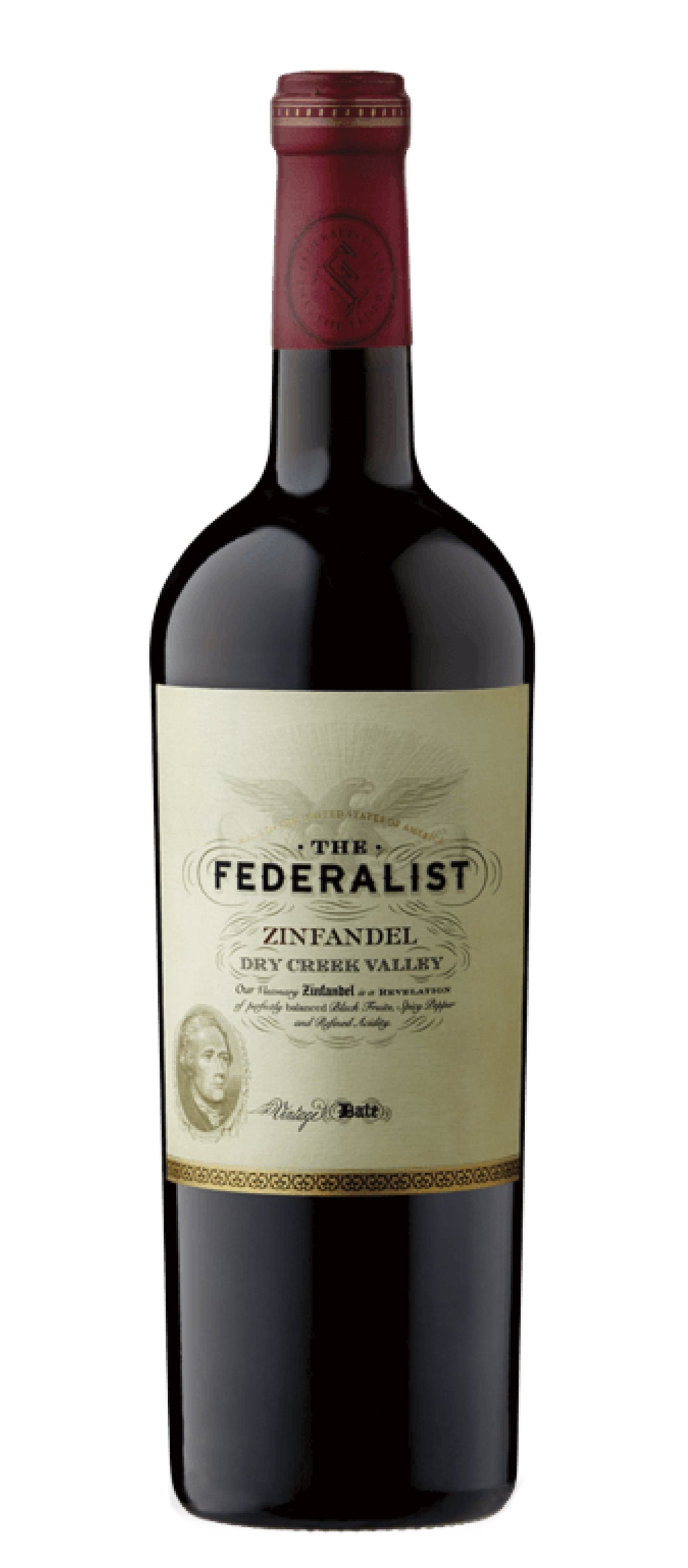 The Federalist Zinfandel Visionary 2018