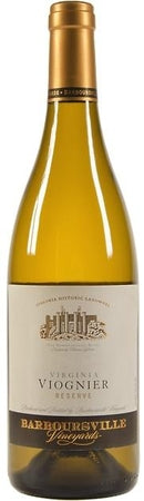 Barboursville Vineyards Viognier Reserve 2015