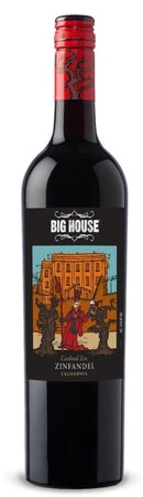 Big House Wine Co. Zinfandel Cardinal Zin 2014