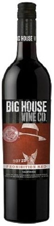 Big House Wine Prohibition Red Scarface 2015