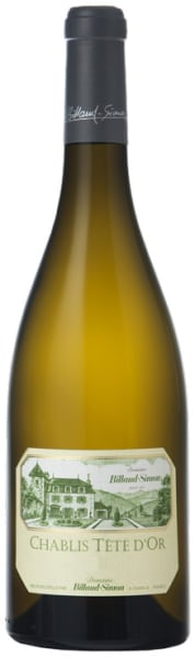 Billaud-Simon Chablis Tete d'Or 2015