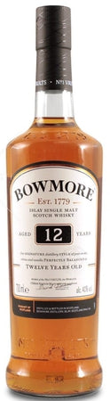 Bowmore Scotch Single Malt 12 Year 2012