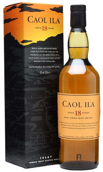 Caol Ila Scotch Single Malt 18 Year (UNPEATED)