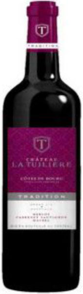 Chateau La Tuiliere Cotes de Bourg Tradition 2015