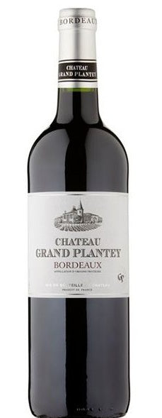 Chateau Grand Plantey Bordeaux 2018