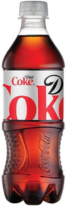 Coca-Cola Diet Soda Bottle 20 Oz.