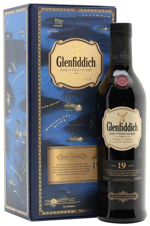 Glenfiddich Scotch Single Malt 19 Year Age of Discovery Bourbon Cask Reserve