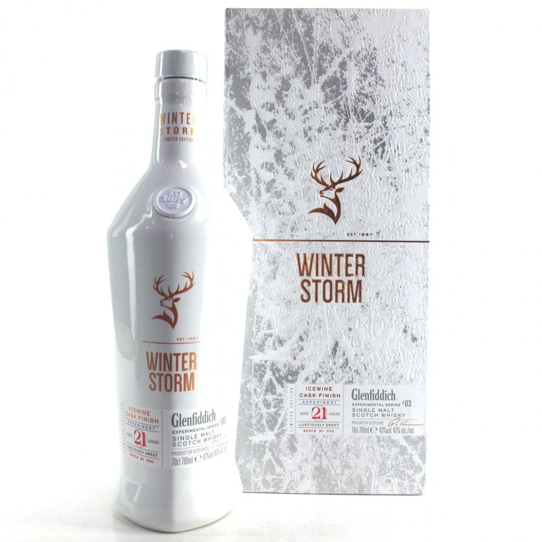 Glenfiddich 21 Years Old Winter Storm Limited Editon Experimental Series 3
