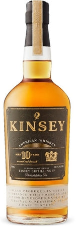 Kinsey Whiskey American 10 Year