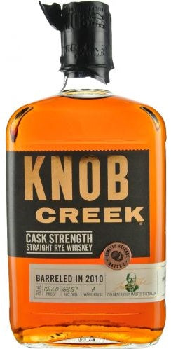 Knob Creek Rye Whiskey Cask Strength