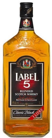 Label 5 Scotch Classic Black