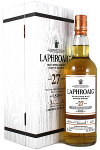 Laphroaig Single Malt Scotch 27 Year Old Double Matured Limited Edition