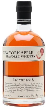 Leopold Bros Whiskey New York Apple